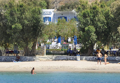 Fanis rooms & studios at the beach on Amorgos
