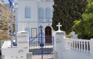 Location on Amorgos